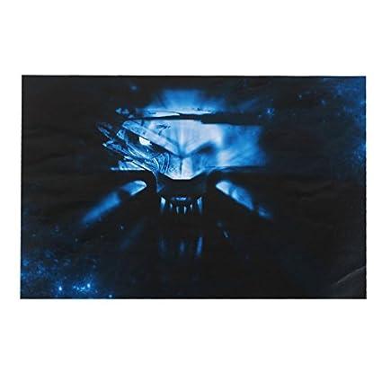 Amazon.com: eDealMax Cabeza del Lobo Patrón 15,6 piel del cuaderno de vinilo etiqueta de la etiqueta Negro: Electronics