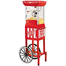 Nostalgia CCP399 2.5-Ounce Popcorn Cart - 48 Inches Tall