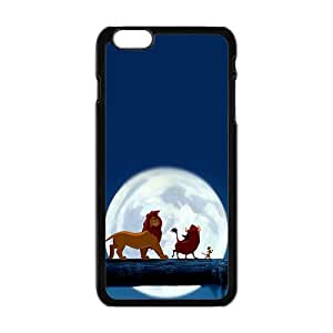 Cartoon The Lion King fashion plastic phone case for iPhone 6 plus