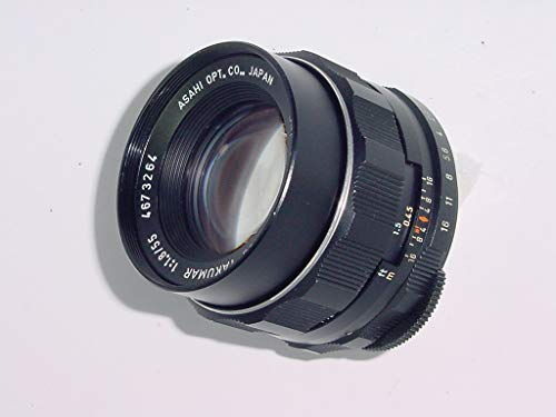 (Pentax 55mm f/1.8 Manual Focus Super-Takumar Screw Mount Lens for Pentax Spotmatic Camera)
