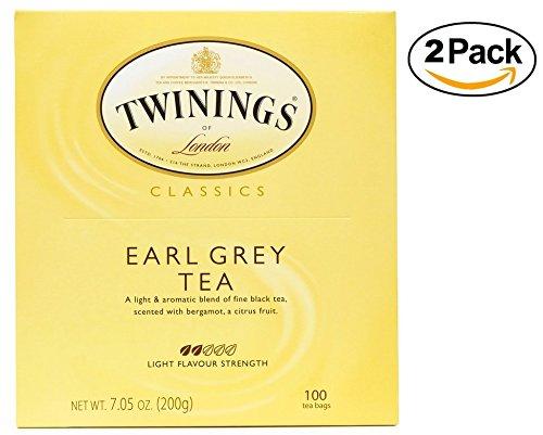Twinings Tea, Earl Grey, 200 Count ()