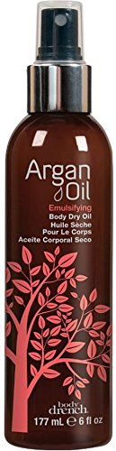 Body Drench Argan Oil Emulsifying Body Dry Oil for All Skin Types, 6 fl oz