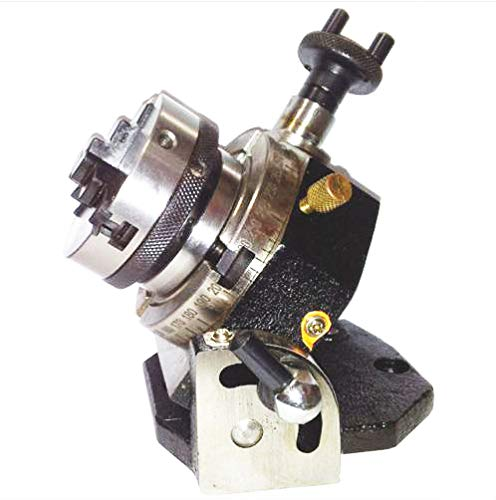 Factory Rotary Table Tilting 3″ / 75mm with 65mm Lathe Chuck for Milling Machine