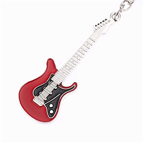 Toporchid Guitar Keychain Creative Guitar Musical Instrument Keychain - Musical Key