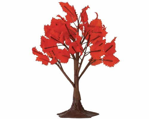 Lemax Accessory Village Collection 9'' Autumn Maple Tree, Large #44151 by Lemax