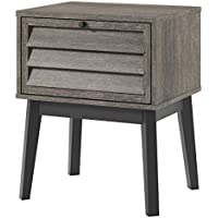 Ameriwood Home 5993196COM Vaughn Nightstand, Gray Oak