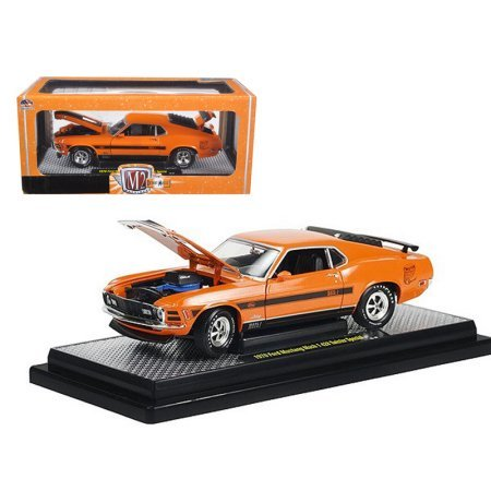 - M2 40300-36A-01 1 by 24 Ford Mustang Twister Special Grabber Diecast Model Car44; Orange