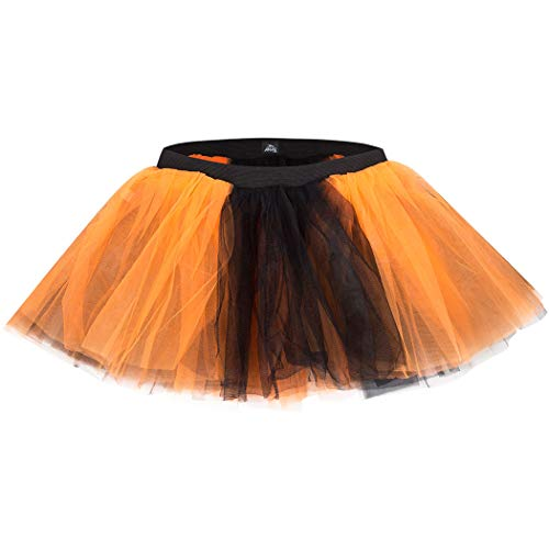 Gone For a Run Runners Tutu Lightweight | One Size Fits Most | Orange-Black
