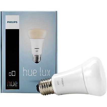 Philips Hue Lux A19 bombilla de 60 W equivalente regulable LED Smart (modelo antiguo,