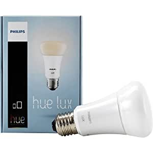 philips hue lux a19 60w equivalent dimmable led smart bulb older model works with alexa apple. Black Bedroom Furniture Sets. Home Design Ideas