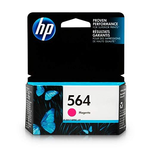 HP 564 Ink Cartridge Magenta (CB319WN) for HP Deskjet 3520 3521 3522 3526 HP Officejet 4610 4620 4622 HP Photosmart: 5510 5512 5514 5515 5520 5525 6510 6512 6515 6520 6525 7510 7515 7520 7525 ()