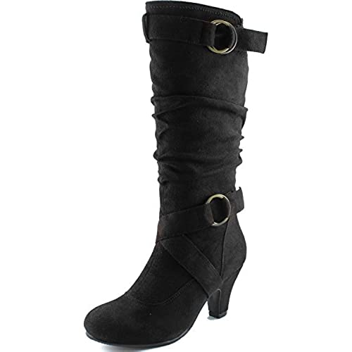 2 Inch Heel Boots: Amazon.com