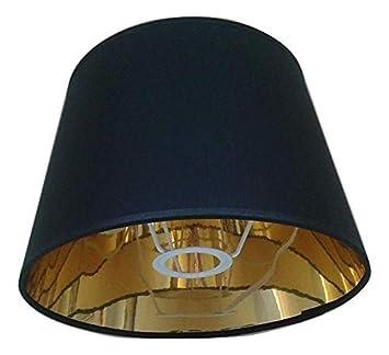 Arg Lighting 254 Cm Empire Lampenschirm Gold Futter Schwarzweiß