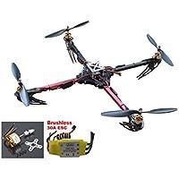 Hobbypower X525 4-axis Quadcopter Glass Fiber Folding Kit with CC3D Flight Controller +1000KV Motor+30A ESC Multicopter