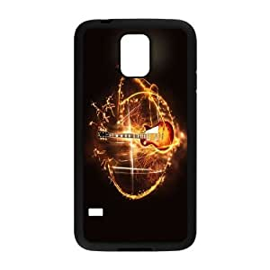 Guitar and music High Quality Pattern Hard Case Cover for For Samsung Galaxy S5 Case color13