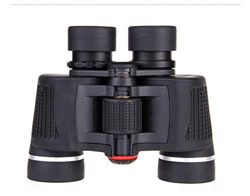 (Elegent High Definition HD Binoculars with Night Vision Waterpoof 1000 BAK4 for Outdoor Easy Carrying\ Hiking\ Birds Watching Black Small (Size : 8x42))