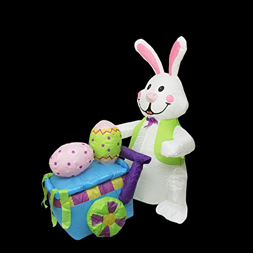 Outdoor Lighted Easter Bunny in US - 7