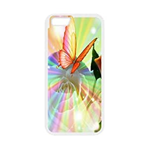 Generic Case Colourful Butterflies For iPhone 6 4.7 Inch Q6Z6628366