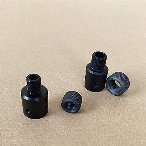 NO LOGO L-Yune, Ruger de Aluminio 1022 10-22 1/2-28 5/8-24 Adaptador de Rosca y Rosca de Acero Compensador Protector de .223 .308 (Color : 223)