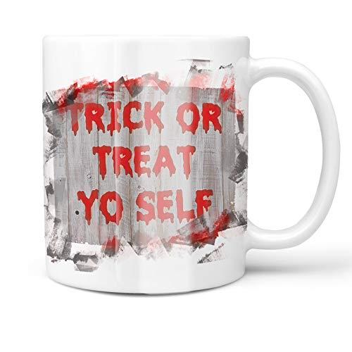 Neonblond 11oz Coffee Mug Trick or Treat Yo