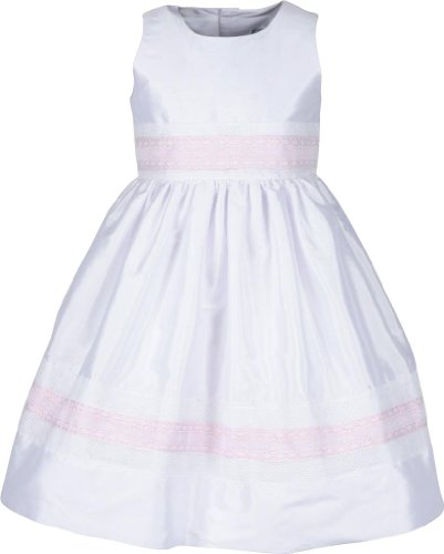 (Isabel Garreton Classic Tafetta Dress With Lace 3 year)