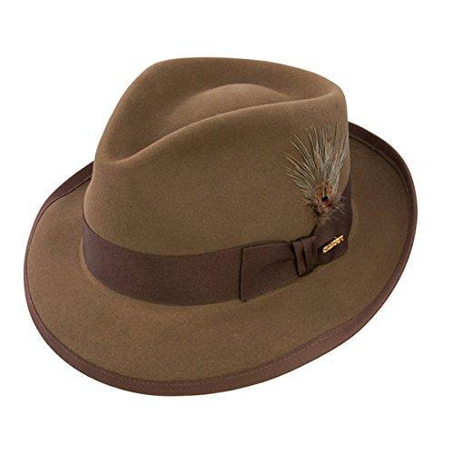 - Stetson Men's Whippet Royal Deluxe Fur Felt Hat, Tawny, 6.875