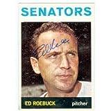 Ed Roebuck autographed Baseball Card (Washington Senators) 1964 Topps #187 (67) - Autographed Baseball Cards