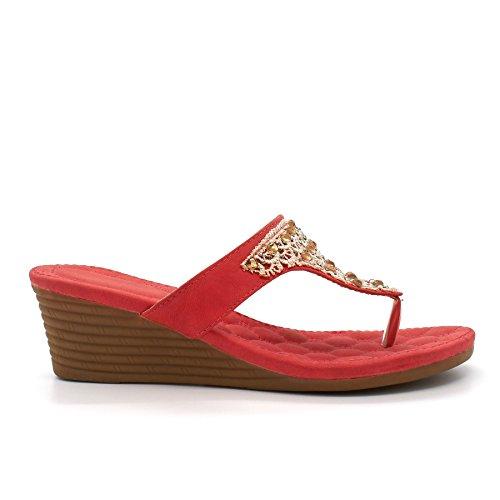 femme Corail London à Ouvertes l'arrière Footwear 0wqgaY