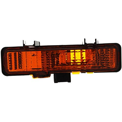 S15 Parking Signal Light (DAT 82-93 GMC S10 PICKUP IN THE BUMPER FRONT PARKING SIGNAL LAMP ASSEMBLY LEFT DRIVER SIDE GM2520109)