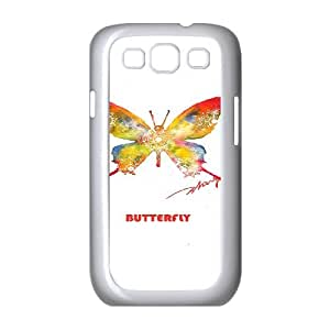Wholesale beautiful butterfly Case Cover Best For Samsung Galaxy S3 KJNT-L476629