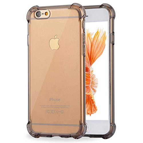 Impact Resistant clear Cover iPhone 6 6s Card Case,ibarbe Protective Shell Shockproof Heavy Duty TPU Bumper Case Anti-scratches EXTREME Protection Cover Heavy Duty Case for iPhone 6 6S - Tory Outlet