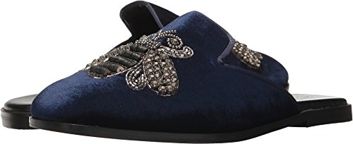 Kenneth Cole REACTION Women's Glide Off Mule with Embroidery, Navy, 9.5 M US