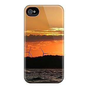 Hot Design Premium SPE30009LWxc Cases Covers Iphone 6 Protection Cases(windmills Energy)