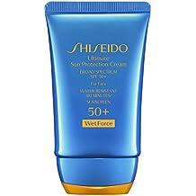 Shiseido Ultimate Sun Protection Cream SPF 50+ Wetforce, 2 Ounce