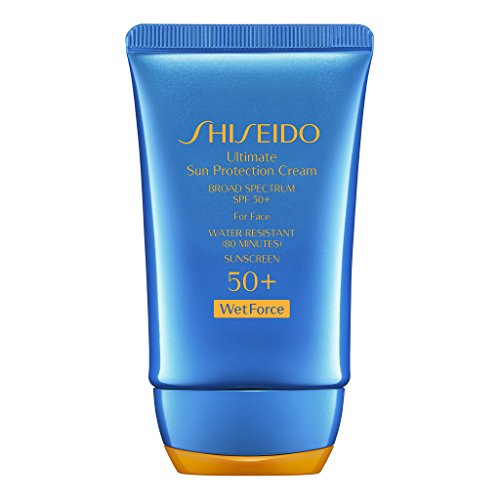 Shiseido Ultimate Sun Protection Cream SPF 50 Wetforce, 2 Ounce