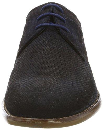 Bugatti Unisex Snörning Skor Mörkblå Blå (mörkblå 4100)