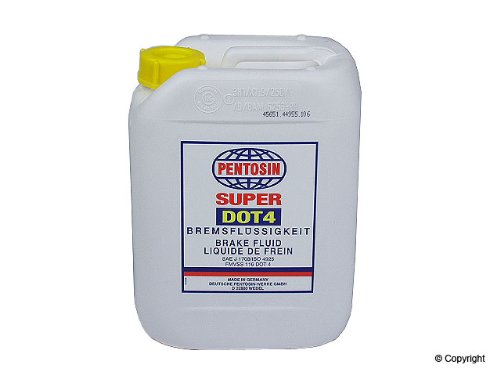(Pentosin Brake Fluid - 5 Liter)
