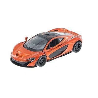 KiNSMART KT5393D - MCLAREN P1 (Orange): Toys & Games