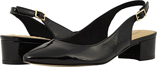 (Walking Cradles Women's Hazel Black Tumbled Patent 7 M US)