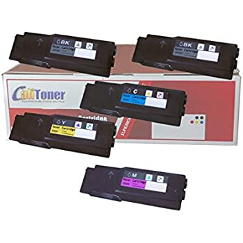 4Pk Toner CMYK Set compatible with Xerox Phaser 6600 WorkCentre 6605DN 106R02228