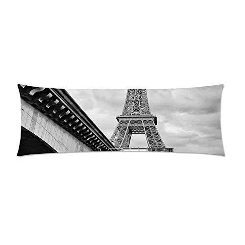 C COABALLA Eiffel Tower Comfortable Rectangular Pillowcase,Eiffel Tower
