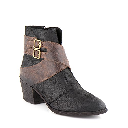 Felmini - Zapatos para Mujer - Enamorarse com Hefesto 9951 - Botas Cowboy & Biker - Cuero Genuino - Varios colores Varios colores