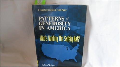 Patterns Of Generosity