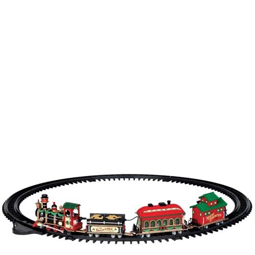 Lemax 24472 Village Yuletide Express Battery Operated Train, 4.5 Volt