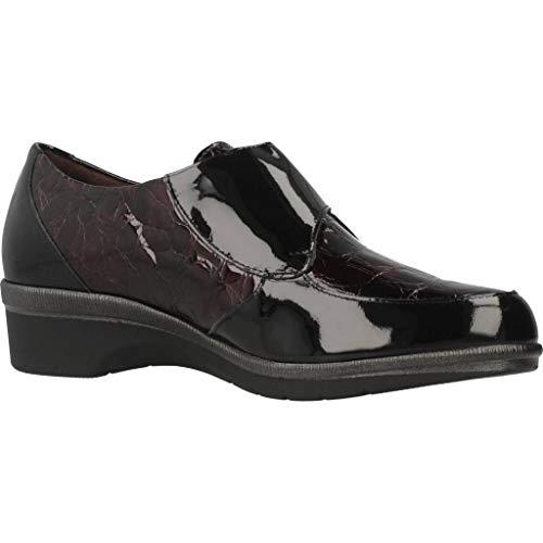 Marca 5211P Rojo para Pitillos Rojo Modelo De Rojo Mujer Zapatos Pitillos Mujer Cordones para Cordones Color Zapatos de ZcSpY