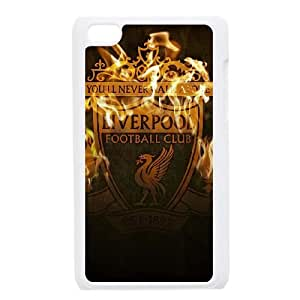 Liverpool Logo iPod Touch 4 Case White Phone cover W9296584