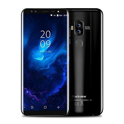 Blackview S8 Four Cameras 18: 9 4G RAM 64G ROM Smartphone 5.7-inch MT6750T Eight-core 1440 720 4G LTE Fingerprint OTG Phone