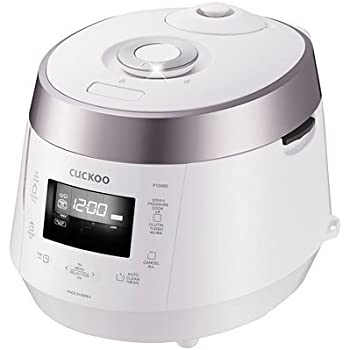 Cuckoo Electric Heating Pressure Rice Cooker CRP-P1009SW (White)