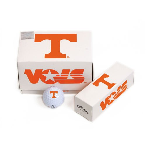 Tennessee Volunteers NCAA Team Logo'd Golf Balls (1 Dozen) by Callaway - Ncaa Golf Logo Ball Balls