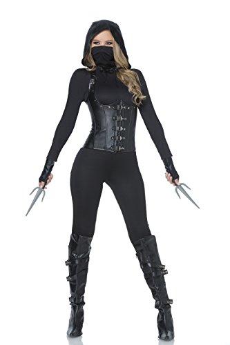 Dark Assassin Costume (Mystery House Dark Assassin (Small))